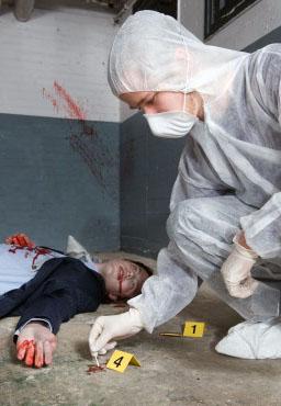 ASPTS prélèvement concours scène de crime police scientifique