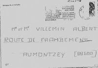 Enveloppe 27-04-1983 affaire gregory police scientifique