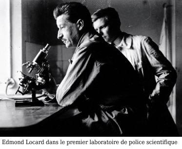 Labo Locard - Police Scientifique - Historique - Révolution génétique