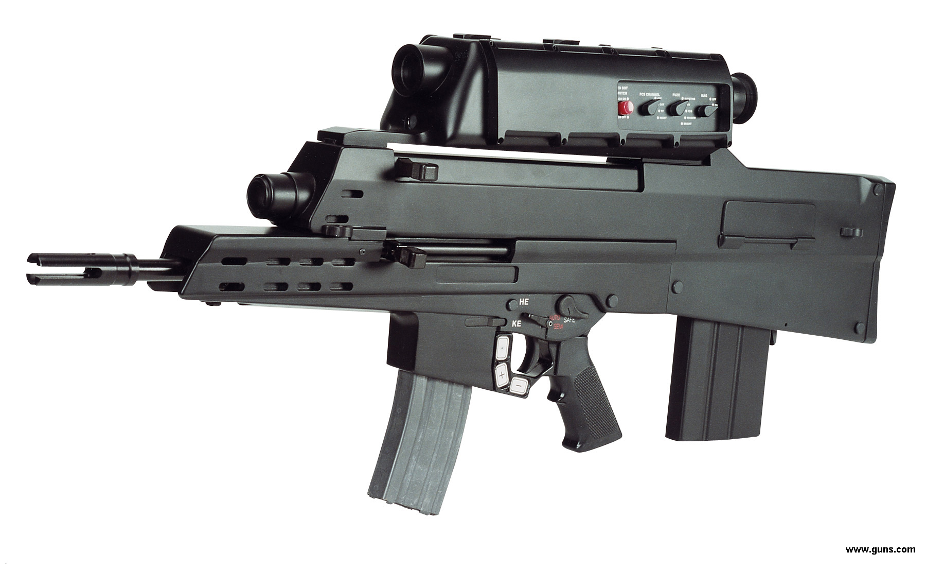 fusil d'assaut DAEWOO K11 police scientifique