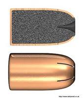 projectile Dum-Dum police scientifique