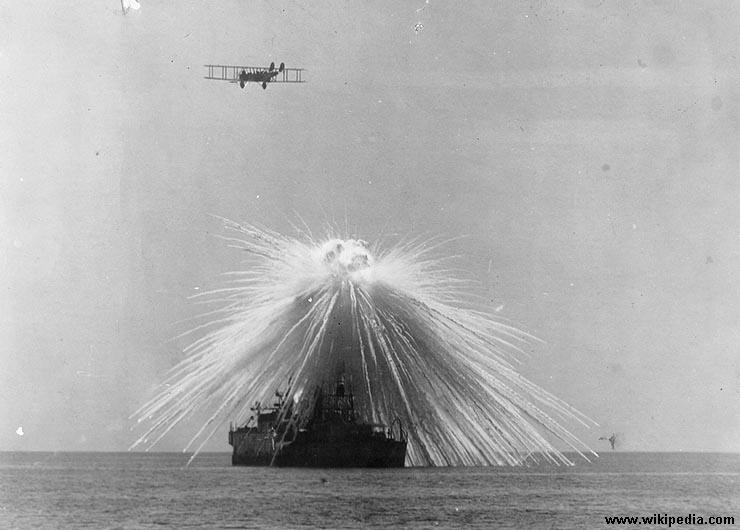 police scientifique bombe incendiaire USS Alabama