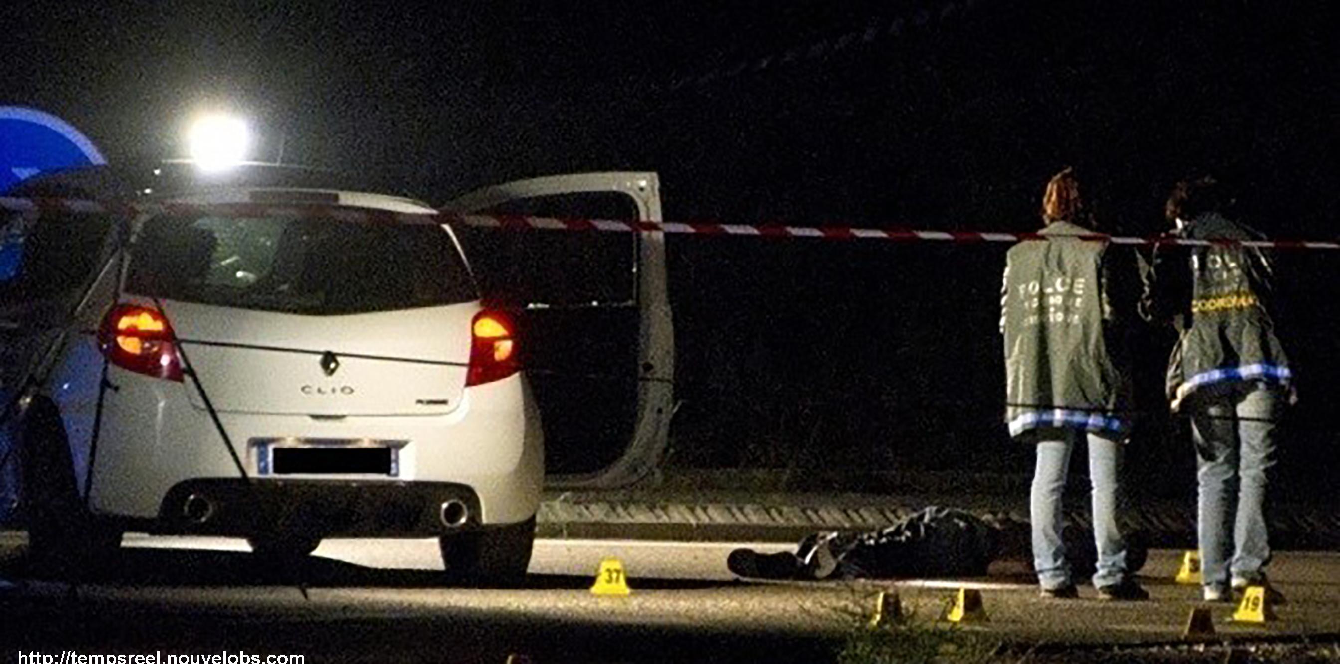 scène de crime traces arme à feu
