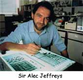 Alec Jeffreys invention ADN - Police Scientifique - Historique - Révolution génétique