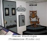 chaise électrique bundy police scientifique