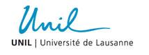 UNIL Ecole des Sciences Criminelles Lausanne