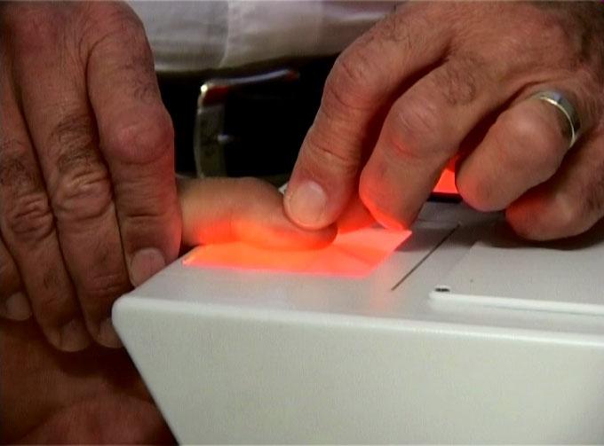 signalisation borne T1 identification empreintes