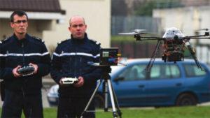 drone VAIC gendarmerie scène de crime