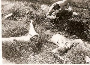 Scène de crime du Dahlia noir