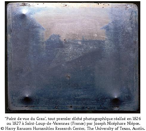 Historique photographie