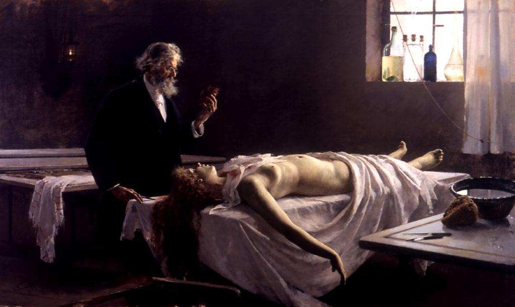 Autopsie XIXe mort