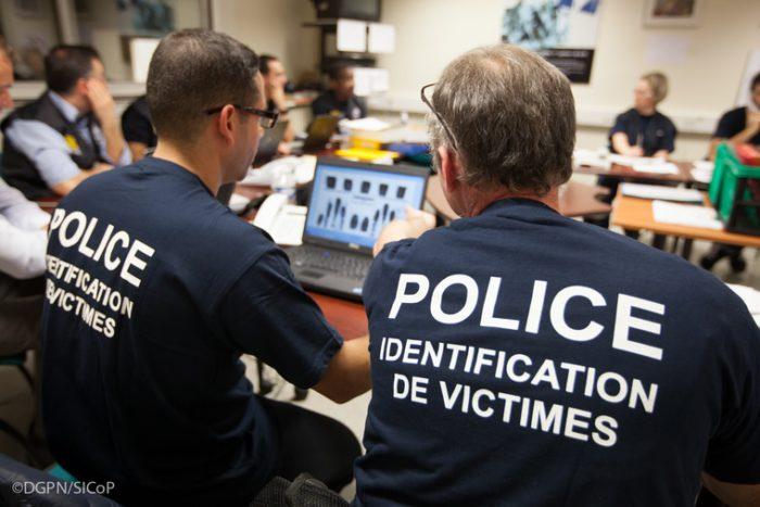 Identification des victimes de catastrophes