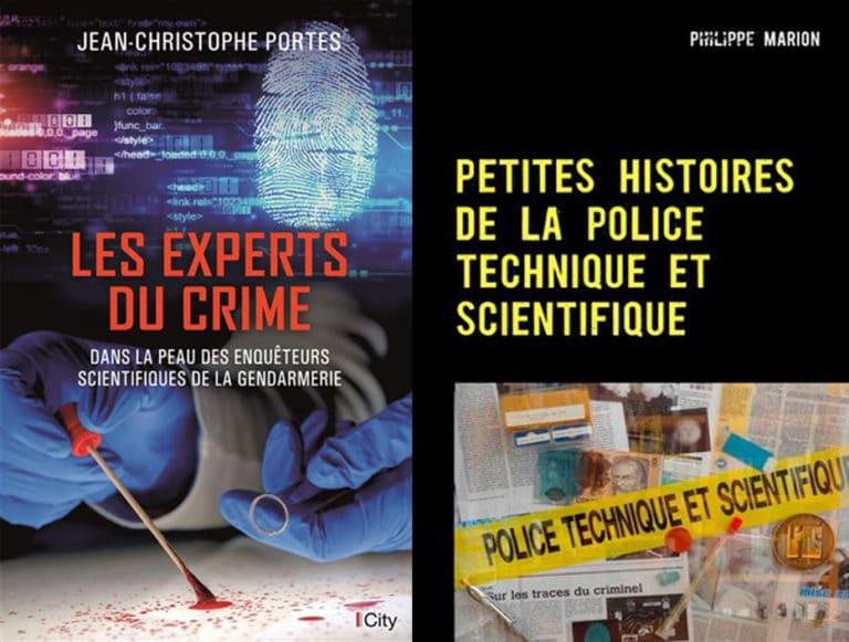 Sorties 2018: deux nouveaux livres sur la police scientifique